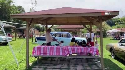 yan etki -  Klasik otomobil sevdalıları Beykoz'da buluştu