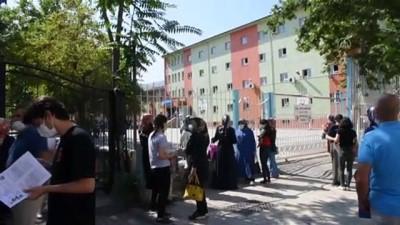 okul bahcesi - MALATYA - Üniversite adaylarının YKS heyecanı
