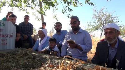 teror saldirisi - ŞIRNAK - PKK'lı teröristlerin katlettiği 4 kişi mezarları başında anıldı Videosu