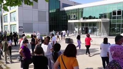 okul binasi - TEKİRDAĞ - Trakya'da YKS heyecanı