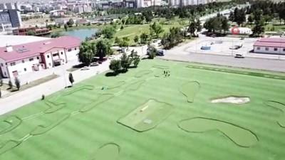 futbol - Erzurum'da Futgolf sahası yapıldı Videosu