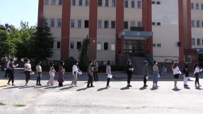 okul binasi - KAYSERİ - YKS'nin ikinci oturumu AYT başladı