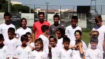 futbol - ANTALYA - Nuri Şahin, Real Madrid Futbol Okulu'nun sezon açılışına katıldı Videosu