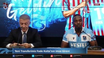 futbol - Fode Koita, Trabzonspor ile sözleşme imzaladı Videosu