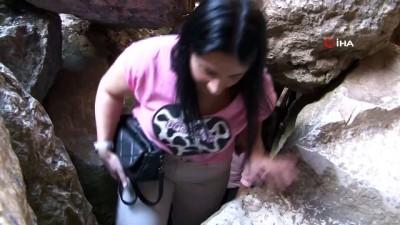 arkeoloji -  Harput'a çıkanların uğrak noktası Buzluk Mağarası... giren 5 dakika duramıyor