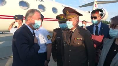 strateji -  - Milli Savunma Bakanı Akar, Türkiye'nin Bişkek Büyükelçiliğini ziyaret etti