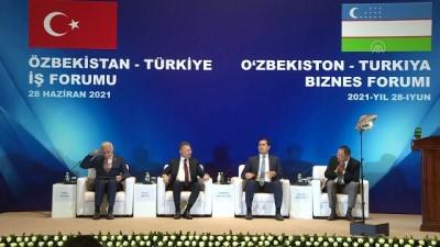 milyar dolar - TAŞKENT - Özbekistan-Türkiye İş Forumu - DEİK Başkanı Nail Olpak Videosu