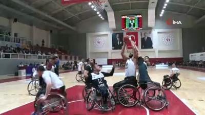 maraton - Tekerlekli Sandalye Basketbol Süper Ligi'nde şampiyon İzmir Büyükşehir Belediyespor
