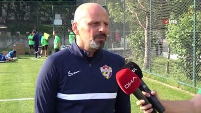 futbol - TFF 1. Lig'in yeni takımı Eyüpspor'un Bolu kampı başladı Videosu