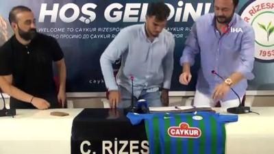 futbol - Çaykur Rizespor Cemali Sertel'i 1 yıllığına kiraladı Videosu