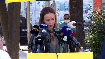 futbol - Kadıköy'de Can Bartu heykeli törenle açıldı Videosu