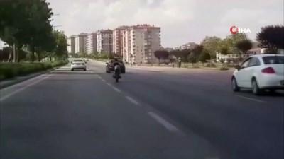tehlikeli yolculuk -  - Motosiklet üzerinde tehlikeli yolculuk