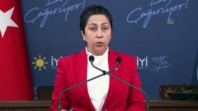 ANKARA - İYİ Partili Önşen'den Marmara'daki müsilaj sorunu için 'araştırma komisyonu' önerisi