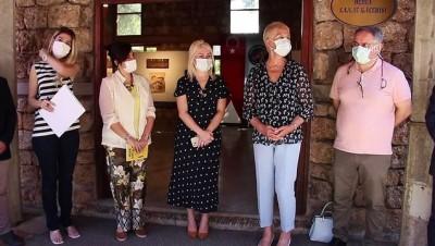 ANTALYA - Akdeniz Üniversitesi'nde 'Tarih-Kültür-Doğa: Patara' Sergisi açıldı