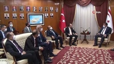 """yurttas -  - Bakan Muş, KKTC Başbakanı Saner tarafından kabul edildi - KKTC Başbakan Hamza Ersan Saner: - """"Türkiye ile birlikte hareket ettiğimiz sürece güçlüyüz"""""""