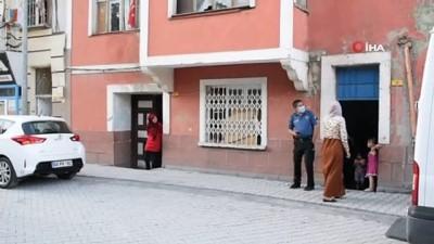 tahkikat -  Balkondan düşen çocuğu vatandaşlar fark etti