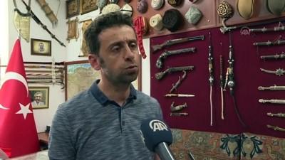 kabil - ERZURUM-  Türklerin Anadolu'ya geliş sürecine ışık tutan taş heykel bulundu