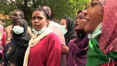 HARTUM - Sudan'da '3 Haziran olayları'nın yıl dönümünde protestolar düzenlendi