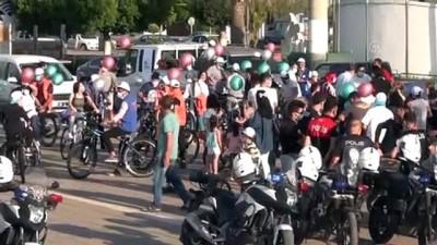 bisiklet turu - HATAY - '3 Haziran Dünya Bisiklet Günü' etkinlikleri kapsamında bisiklet turu düzenlendi