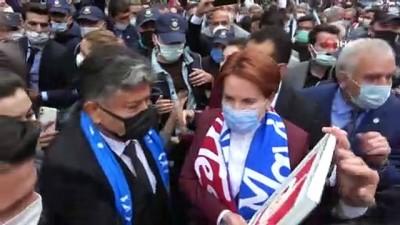 eziler -   İYİ Parti Genel Başkanı Akşener esnafı dinledi