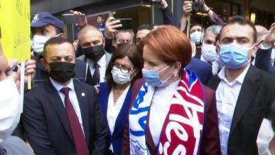 eziler - KARABÜK - İYİ Parti Genel Başkanı Akşener, esnaf ziyaretinde bulundu