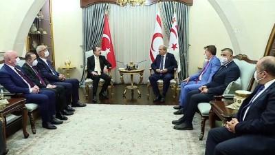 kabil - LEFKOŞA - KKTC Cumhurbaşkanı Tatar, Ticaret Bakanı Muş'u kabul etti