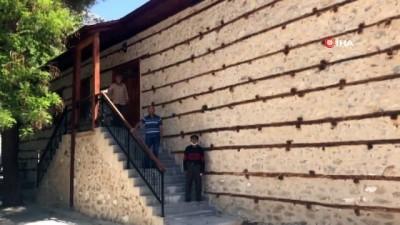 okul binasi -  Osmanlı mimarisi düğmeli ev statüsündeki tarihi ilkokul restore edilip yeniden ayağa kaldırıldı