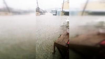 RİZE - Kaçkarlar'a haziranda kar yağdı