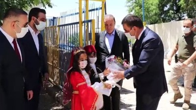 okul binasi - SİİRT - 18 derslikli ilkokul binasının temeli atıldı, kütüphane açılışı yapıldı