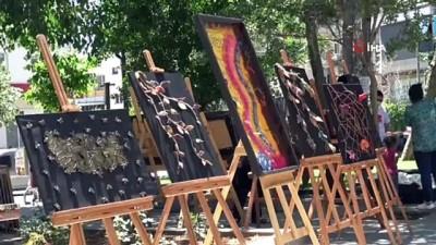 kalp krizi -  Siverek'te el sanatları sergisi açıldı