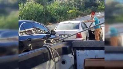 dogum gunu -  Sosyal medyada tepki çeken görüntü... 'Doğum günü' dedi, 12 yaşındaki çocuğu direksiyona oturttu