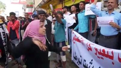 catisma - TAİZ - Yemenliler hayat pahalılığını ve yolsuzluğu protesto etti