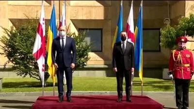 resmi toren - TİFLİS - Ukrayna Başbakanı Şmıgal, Gürcistan'da