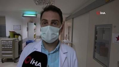 kadin hasta -  Türkiye'de hem Covid-19 hem de Kırım Kongo Kanamalı Ateşi hastalığı ilk kez aynı anda bir hastada görüldü