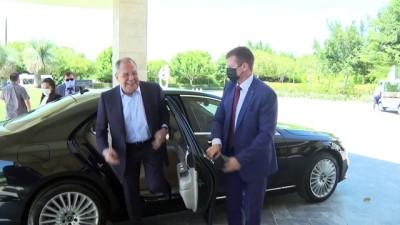 avro - ANKARA - Dışileri Bakanı Çavuşoğlu, Rus mevkidaşı Lavrov ile bir araya geldi