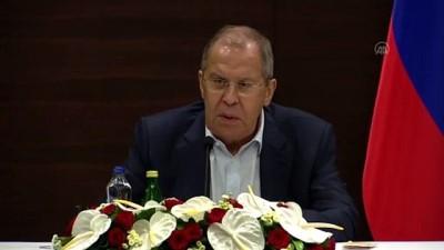 avro - ANTALYA - Lavrov: 'Libyalılar kendi ülkesinin ev sahibi olmalı, kendi toprak bütünlüğünü sağlamalı'