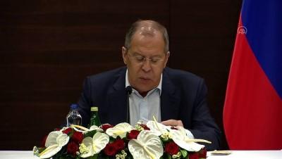 avro - ANTALYA - Lavrov: 'Türk dostlarımızla Montrö kapsamında yükümlülüklerin yerine getirilmesi konusunda memnunuz'