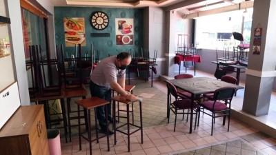 kahvehane - BOLU - Salgın sürecinde faaliyetleri kısıtlanan işletmeler yeni döneme hazır