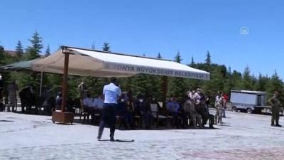 egitim merkezi - KONYA - Uluslararası Anadolu Kartalı-2021 Eğitimi - 'Solo Türk' gösteri uçuşu yaptı