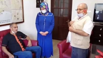 kazanci -  Mersin'de 'insanlık ölmemiş' dedirten olay