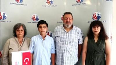 masa tenisi - SAMSUN - LGS birincilerinden Dost Seferoğlu'ndan 'satranç' tavsiyesi