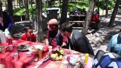 cesar - SİVAS - Koruyucu aile ve adayları '30 Haziran Koruyucu Aile Günü' kapsamında şenlikte buluştu