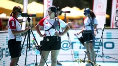 olimpiyat - ANTALYA - Okçuluk Milli Takımı, kadınlarda bireysel olimpiyat kotası elde etti