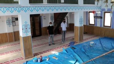 kalaba -  Baraj manzaralı cami, para bitince minaresiz kaldı