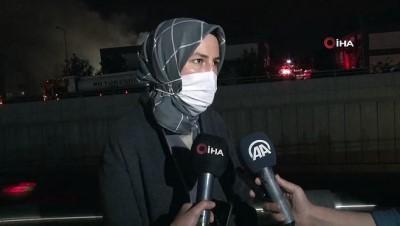 elektrik kontagi -  Başkent'te iş merkezinde çıkan yangın 7 saatin ardından kontrol altına alındı