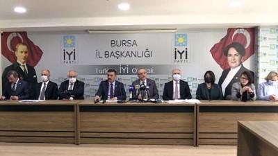 cumhurbaskanligi - BURSA - İYİ Parti Grup Başkanı İsmail Tatlıoğlu Bursa'da erken seçim tartışmalarını değerlendirdi