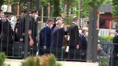 kalaba -  Cumhurbaşkanı Erdoğan, Cuma namazını Uzun Mehmet Camii'nde kıldı