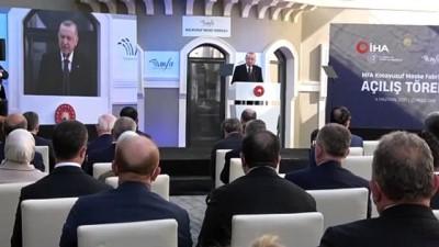 Cumhurbaşkanı Erdoğan: 'Yerli, yabancı ayrımına gitmeden, Türk ekonomisine güvenen herkese biz de sahip çıkıyoruz'