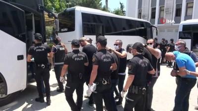safak operasyonu -  Devleti milyonlarca lira zarara sokan suç örgütü, adliyeye sevk edildi