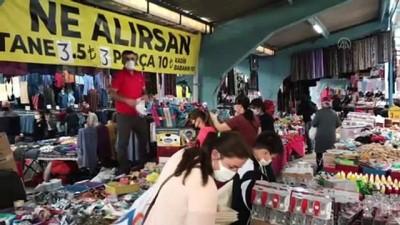 halk pazari - EDİRNE - Uluslararası halk pazarı 6 ay sonra kapılarını açtı